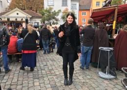 Auf dem Mittelaltermarkt in Meersburg